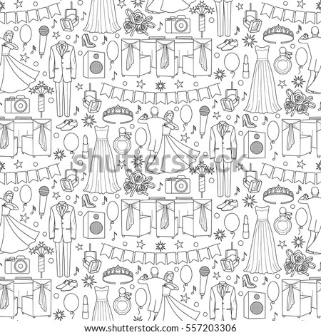 Prom Dress Sketch Stock Images, Royalty-Free Images