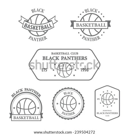 Basketball Logo Stock Photos, Images, & Pictures