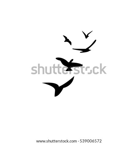 Duck Silhouette Stock Images, Royalty-Free Images