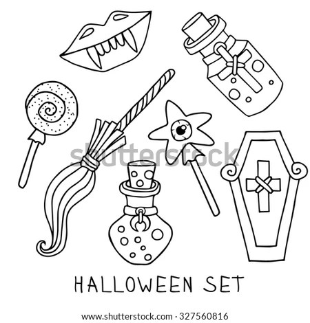 Tattoo Machine Linear Drawing Thin Line Stock Vector