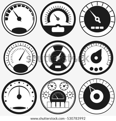 Black Wall Clock Roman Numeral Old Stock Vector 436888957