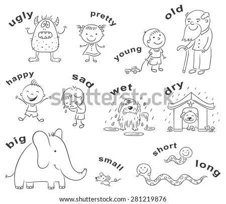Adjective Stock Photos, Royalty-Free Images & Vectors