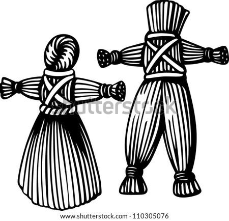 Royal Servant Greece Egypt Slave Stock Illustration