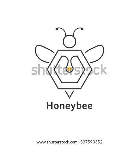 Beekeeper Logo Stock Images, Royalty-Free Images & Vectors