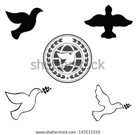 Dove Sketch Stock Photos Images Amp Pictures Shutterstock