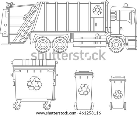 Different Trucks Types Stock Images, Royalty-Free Images