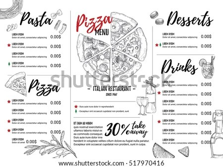 Pizza Flyer Stock Images, Royalty-Free Images & Vectors