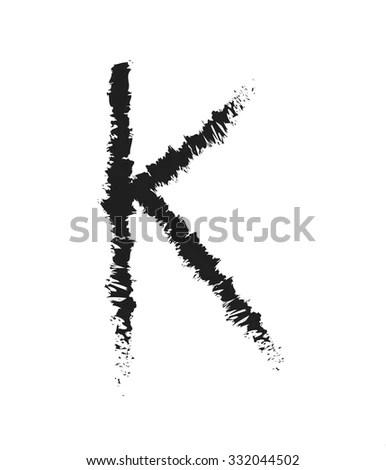 Letter K Script Stock Photos, Images, & Pictures
