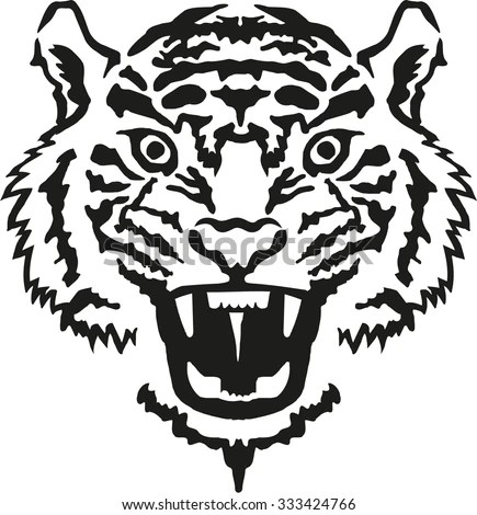 Tiger Head Stock Images, Royalty-Free Images & Vectors