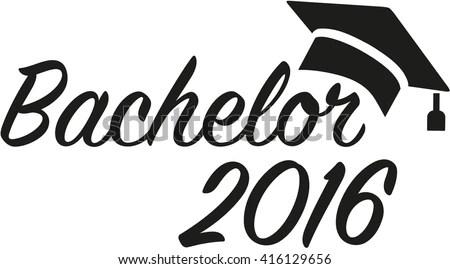 Master 2017 Graduation Hat Stock Vector 539910400