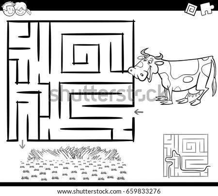 Cartoon Illustration Number Eleven Toys Stock Vector