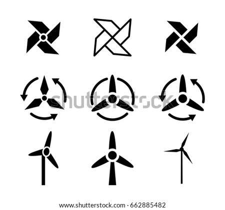 Ceiling Fan Icon Stock Images, Royalty-Free Images