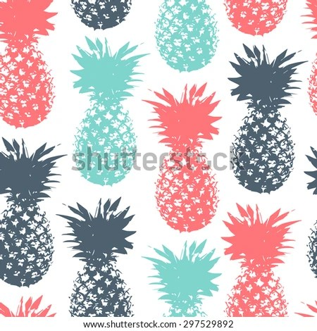 Cute Mint Green Wallpaper Pineapple Stock Photos Royalty Free Images Amp Vectors