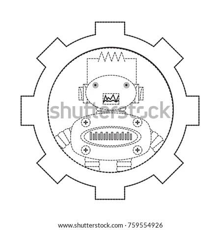 Anchor Steering Wheel Butterfly Tattoo Art Stock Vector