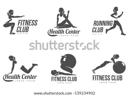 Gym Logo Stock Images, Royalty-Free Images & Vectors
