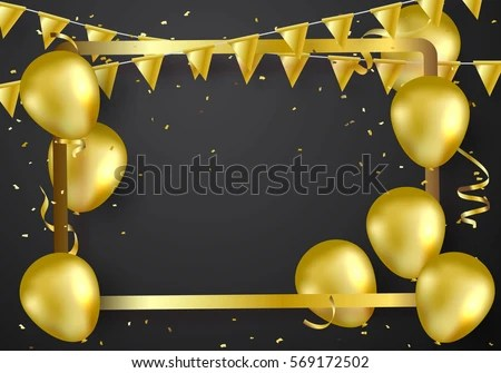 black balloon stock royalty-free