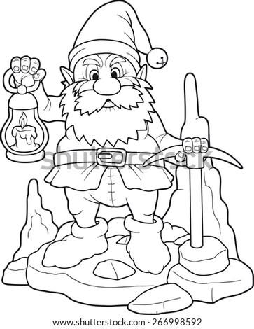 Vector Illustration Set Hand Drawn Christmas Stock Vector