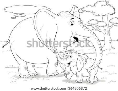 Purple Elephant Stock Photos, Images, & Pictures