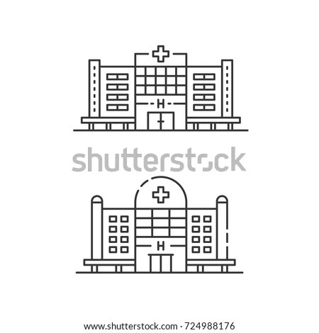 Hospital Building Stock Images, Royalty-Free Images