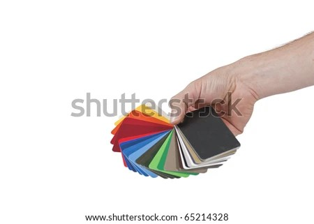 Sample Metal RAL Color Chart Stock Photo (Download Now) 65214328 ...