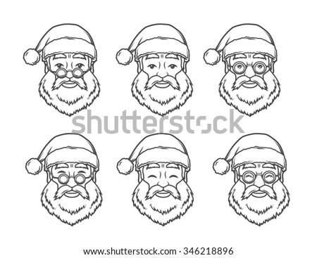 Merry Christmas Round Badge