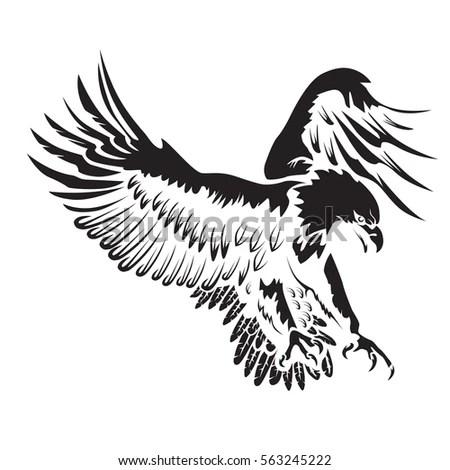 Bald Eagle Symbol Vector, Bald, Free Engine Image For User