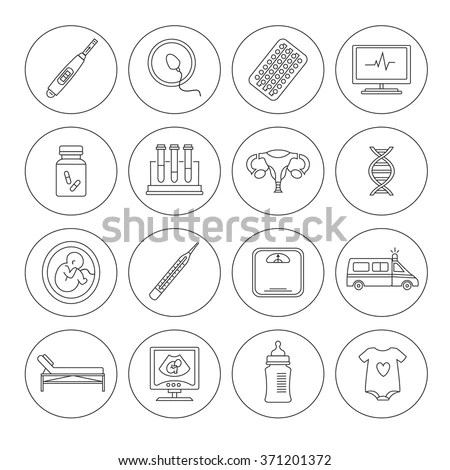Gynecology Icon Stock Images, Royalty-Free Images