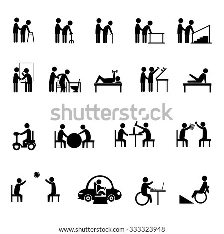 Medical Rehabilitation Activity Elderly Person Disability