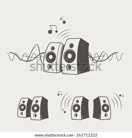 Speaker Logo Stock Images, Royalty-Free Images & Vectors