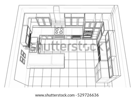 Kitchen Cabinets Stock Images, Royalty-Free Images