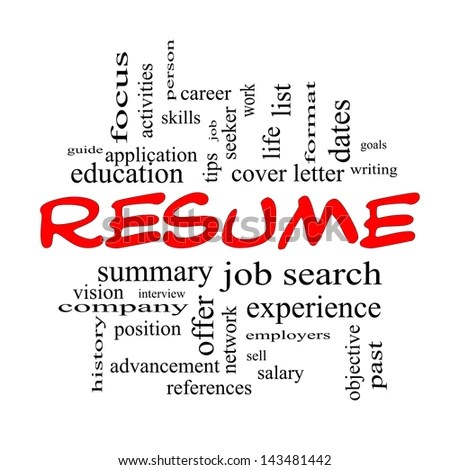 Resume Cover Letter Stock Images RoyaltyFree Images  Vectors  Shutterstock