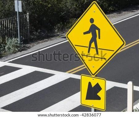 Crosswalk Sign Stock Images, Royaltyfree Images & Vectors