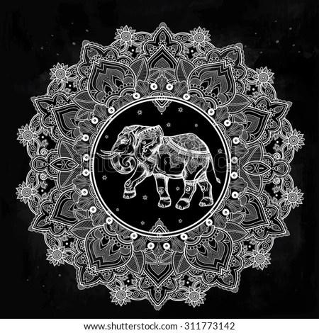 Black And White Polka Dot Wallpaper Border Thai Elephant Stock Images Royalty Free Images Amp Vectors