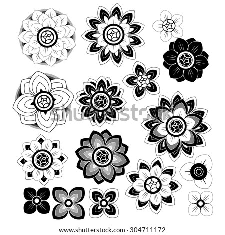 Flower Petals Vector Stock Images, Royalty-Free Images