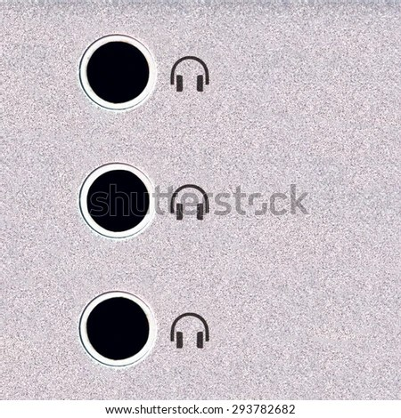 Headphone Socket Stock Images, Royalty-Free Images