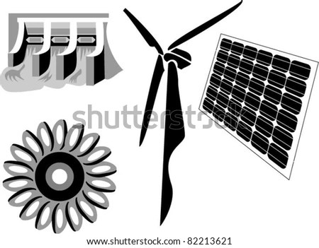 alternative energy sources: hydroelectricity, water