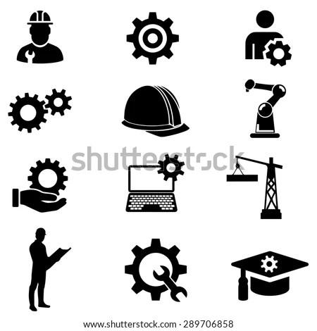 Engineer Vector Icon Vector de stock289706858: Shutterstock