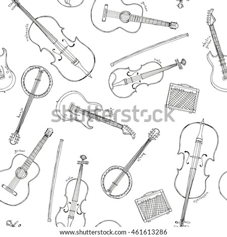 Guitar And Fiddle Stock Photos, Royalty-Free Images