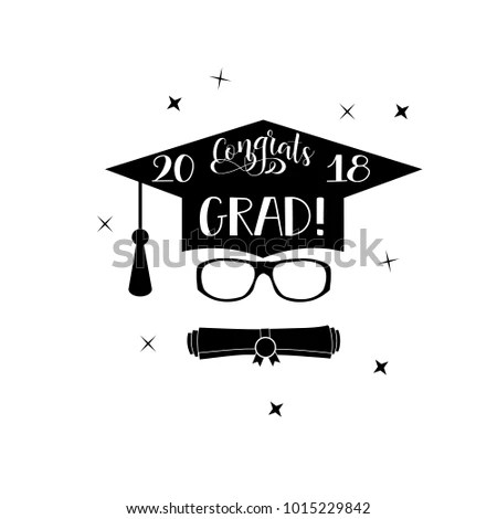 Graduate 2018 Stock Images, Royalty-Free Images & Vectors