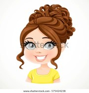 beautiful brunette girl brown dark