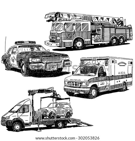 Ambulance Lights Flashing, Ambulance, Free Engine Image