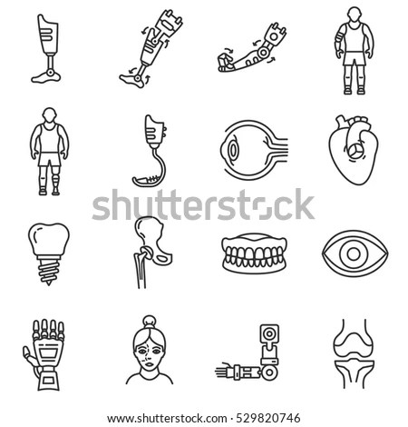 Prosthetic Stock Images, Royalty-Free Images & Vectors