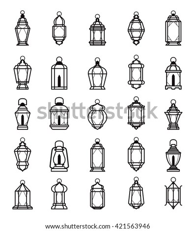 Ramadan Lantern Vector Stock Images, Royalty-Free Images