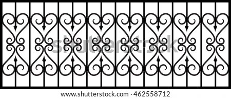 Wrought Iron Gate Stock Images, Royalty-Free Images
