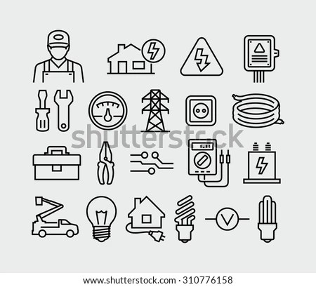 Electrical Transformer Icon Electrical Socket Icon Wiring