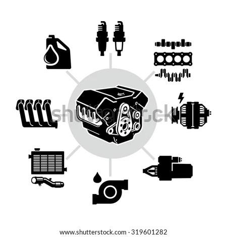 Simple Combustion Engine Design Simple AutoCAD Engine