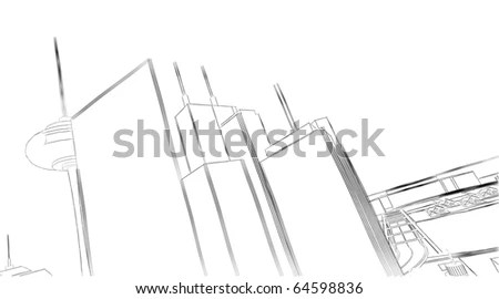 Tower Crane Diagram, Tower, Free Engine Image For User