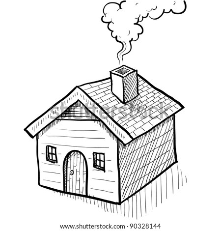 House Chimney Smoke Stock Photos, Images, & Pictures