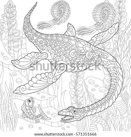Plesiosaur Stock Images, Royalty-Free Images & Vectors