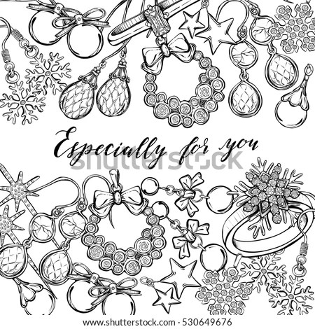 Jewelry Sketch Stock Images, Royalty-Free Images & Vectors